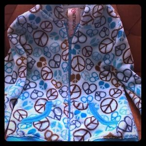Girls zip-up hoodie